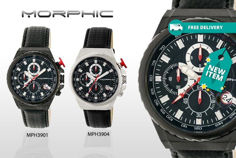 Men's Morphic M39 Series Watches - 5 Designs!