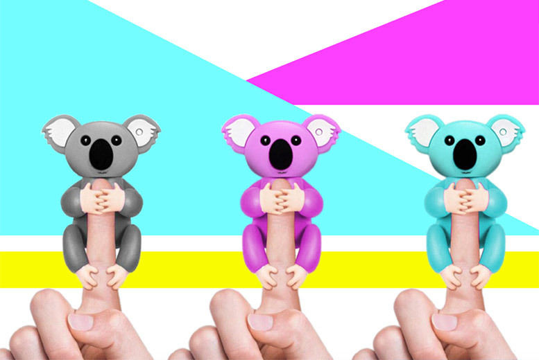 Interactive Finger Pet Koala - 3 Colours!