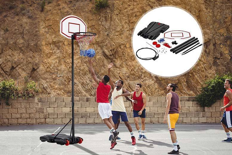 Adjustable Basketball Hoop for £39