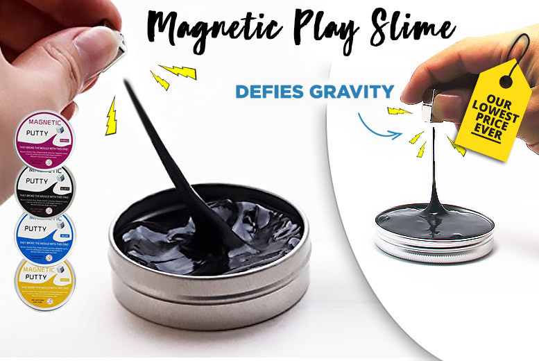 Dr. Frank's Crazy Magnetic Play Slime - 6 Colours!