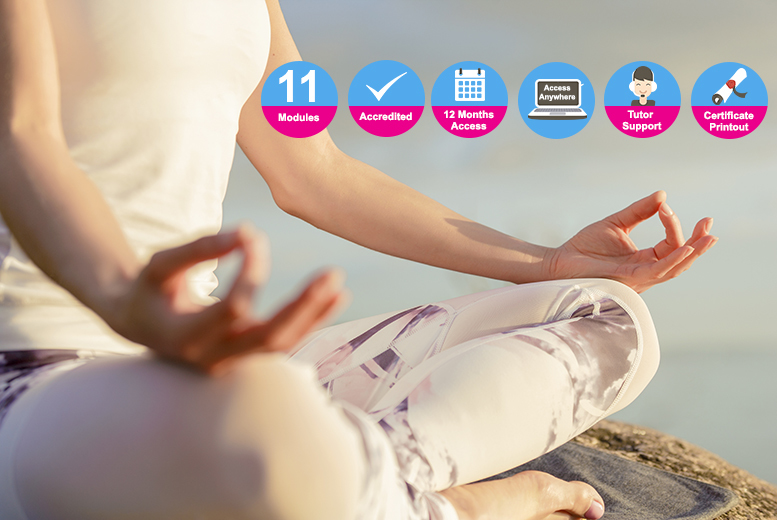 Accredited Mindfulness For Stress Course for £12