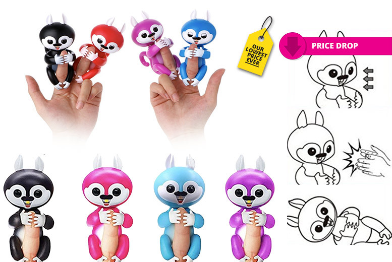 Interactive Finger Pet Toy – 4 Colours! for £7.99