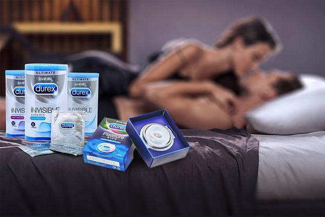девушка из рекламы презервативов мужчины
