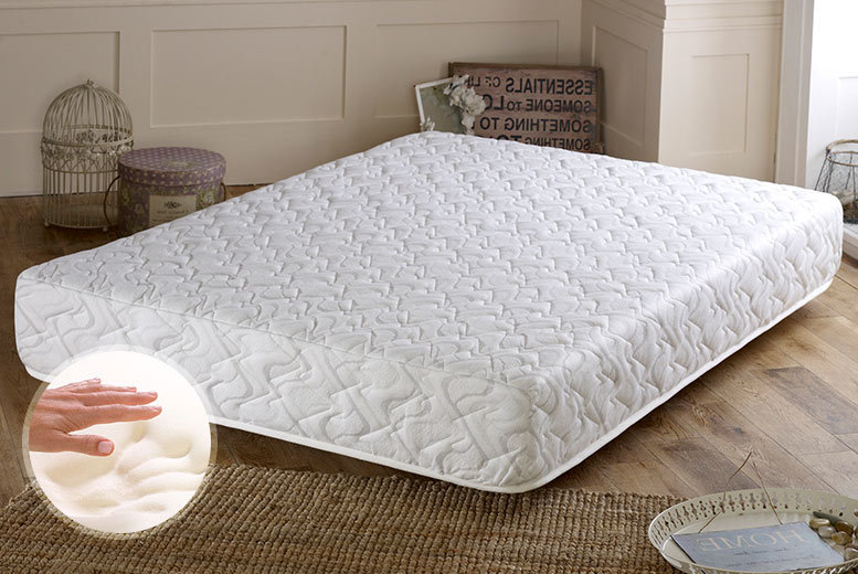 £129 for a single luxury 3000 pocket sprung memory foam mattress, £169 for small double or double, £199 for a king - choose from four sizes and save up to 69%