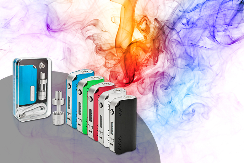 £39 (from GoHookah) for an INNOKIN Cool Fire IV Mod + isub G Clearomizer starter kit, £42 to include to e-liquids -  save up to 54%