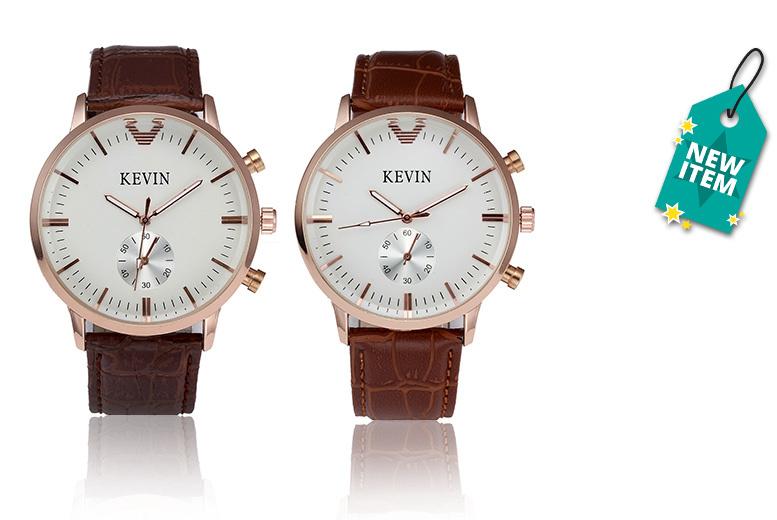 Kevin James Designer Watch - 2 Designs!