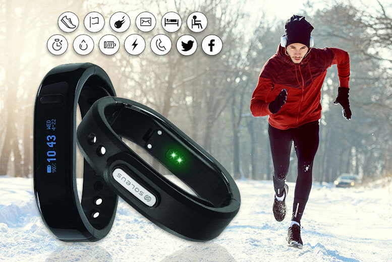 Soleus Thrive Activity Band for £19.99