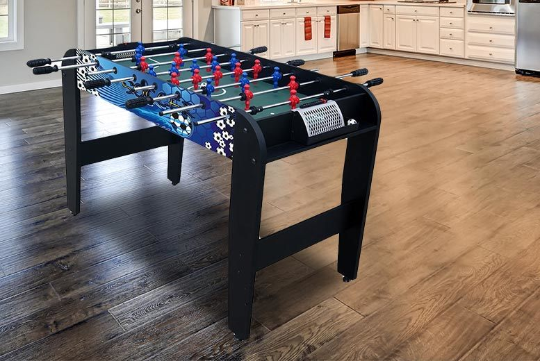 Velocity 4ft Folding Table Football Game from £49