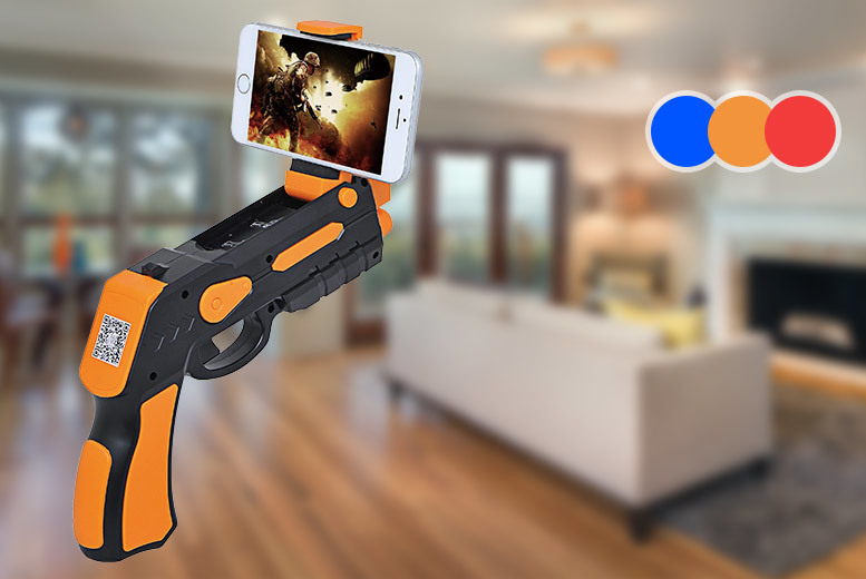 Augmented Reality Toy Gun – 3 Colours! for £14.99