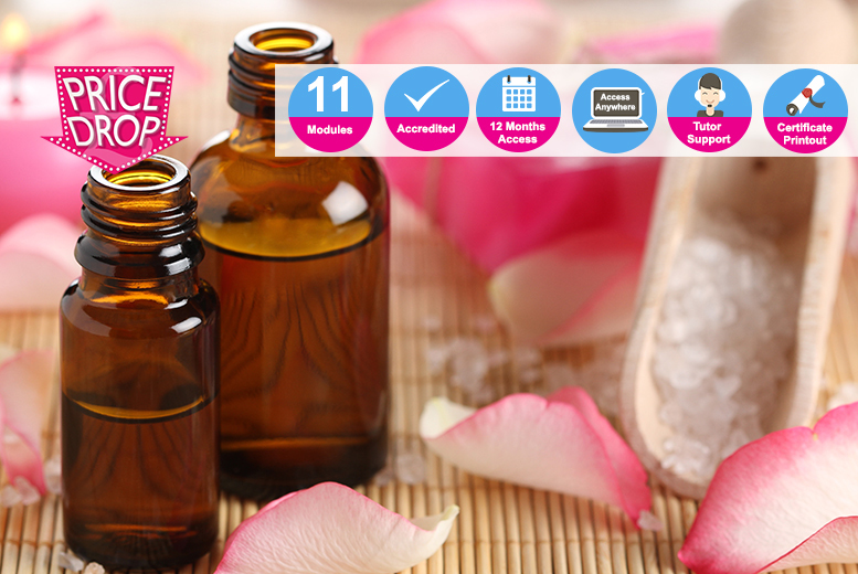 Accredited Aromatherapy Course for £18