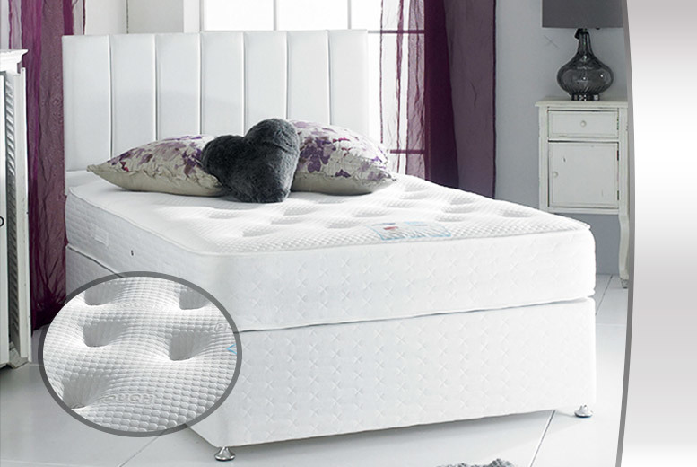 From £199 (from Sleep Express) for a luxury 3000 pocket sprung cashmere or memory foam mattress - choose double or king size and save up to 79%
