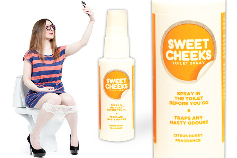 Sweet Cheeks 'Before You Go' Toilet Spray – 1 or 2 Bottles! from £4.99