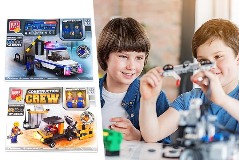 Lego®-Compatible Block Tech Playset from £3.99