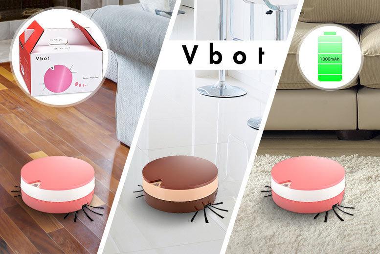 VBot Smart Robot Vacuum – 2 Colours! for £45