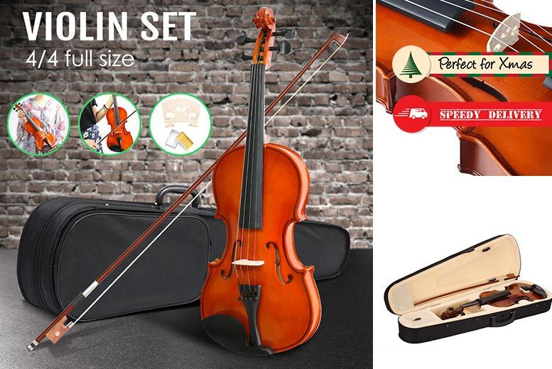 Full-Size Violin & Carry Case for £29.99