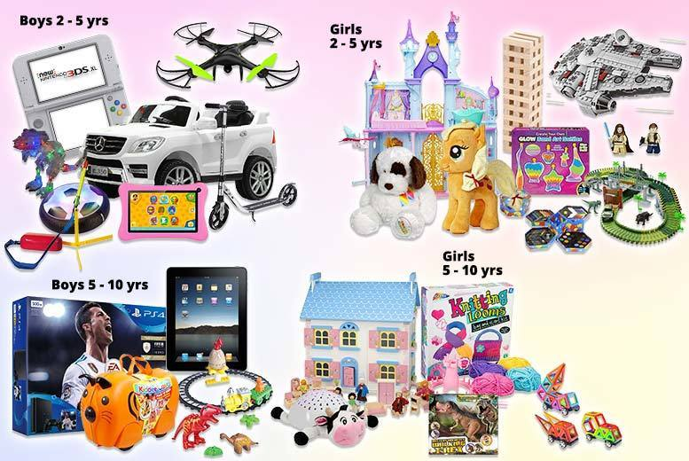 Kids Mystery Deal – Apple, Glow Sand, Nintendo, Disney & More! for £8