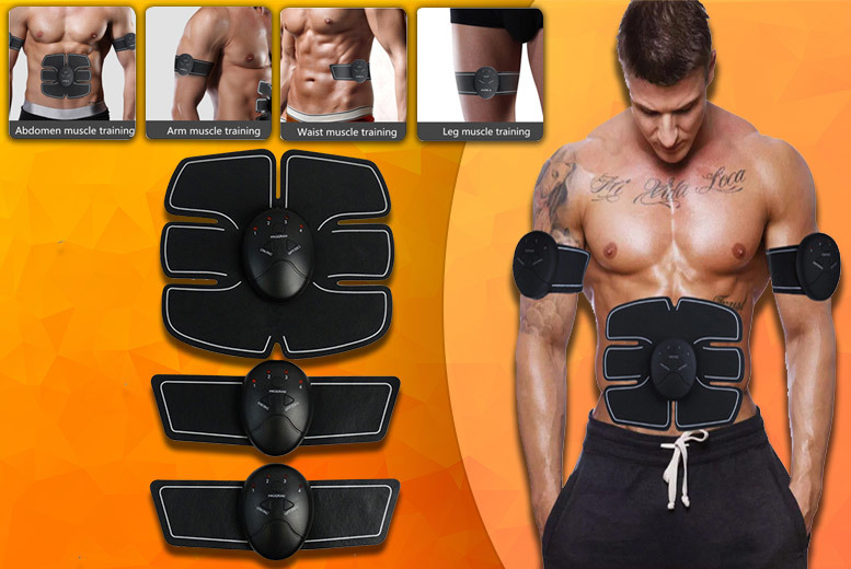 Abs 'Stimulator' with Optional Arm Pads from £12.99
