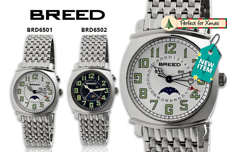 Men's Luxury Breed 'Ray' Collection Watches - 6 Designs!
