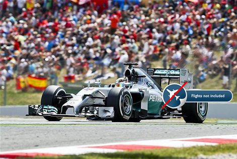From £169pp (with World Choice Sport) for a two-night hotel stay with tickets to a Formula One Grand Prix - choose Spain, Italy, Belgium, Hungary, Belgium or Monaco!