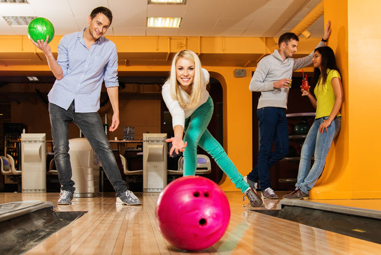 £12 instead of £44 for two games of bowling and shoe hire for four people at MFA Bowl - choose from 28 UK locations and save 73%