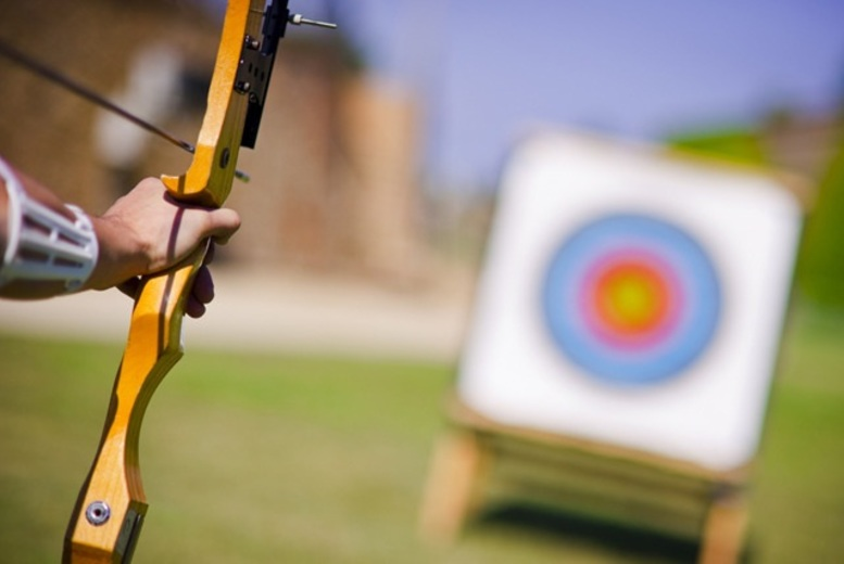 £19 for an archery experience with 30 arrows to share for up to two people, £36 for 60 arrows for up to four or £89 for 150 arrows for up to 10