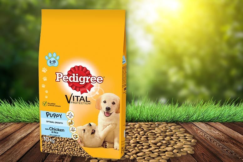 10kg Pedigree® Puppy Complete Dry Food for £16.99