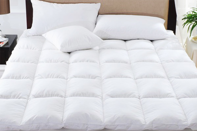 5cm Extra Thick Anti-Allergenic Mattress Topper from £14.99