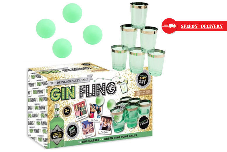'Gin Fling' Party Game for £9