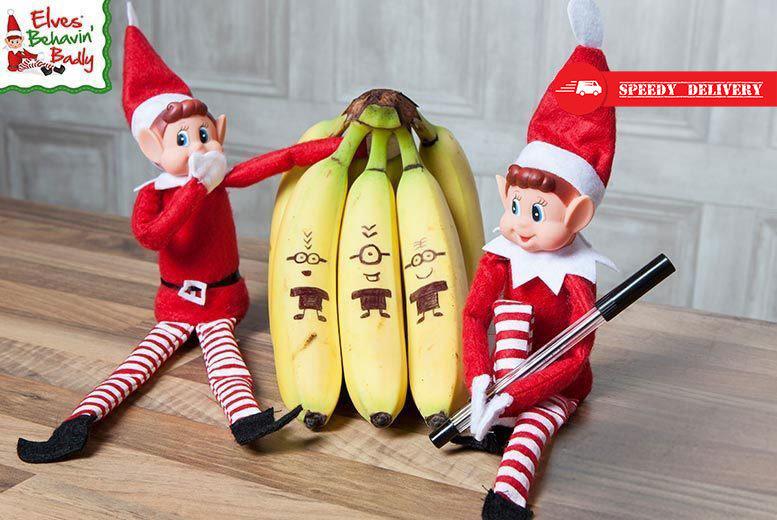 2 Christmas Elves Behavin' Badly for £6.99