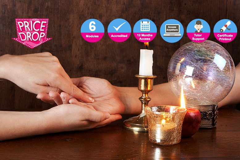 Accredited Palm Reading Course for £12