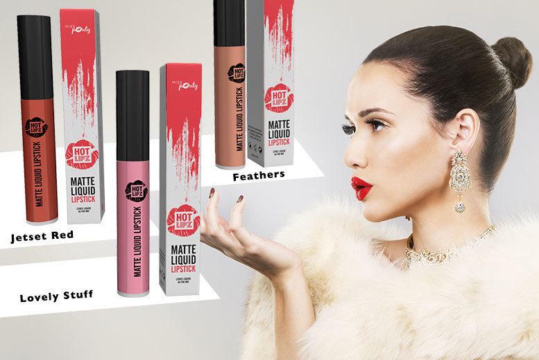 Three Matte Liquid Lipsticks from £7.99