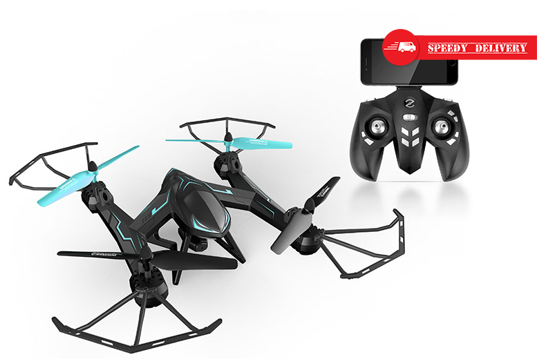 360° Acrobatic Quadcopter with HD Camera for £69