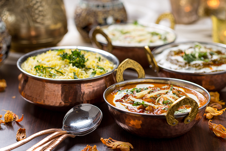 £19 for £110 Indian Dining and Drinks