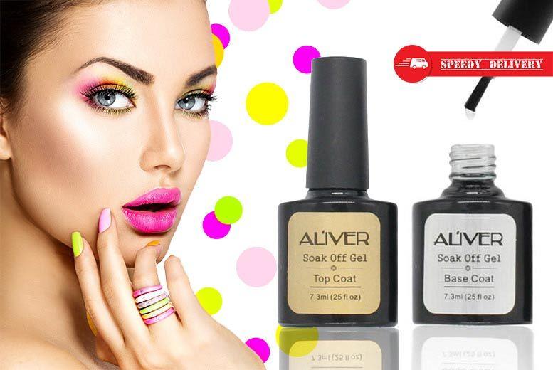Aliver Professional Nail Gel Polish Set for £4