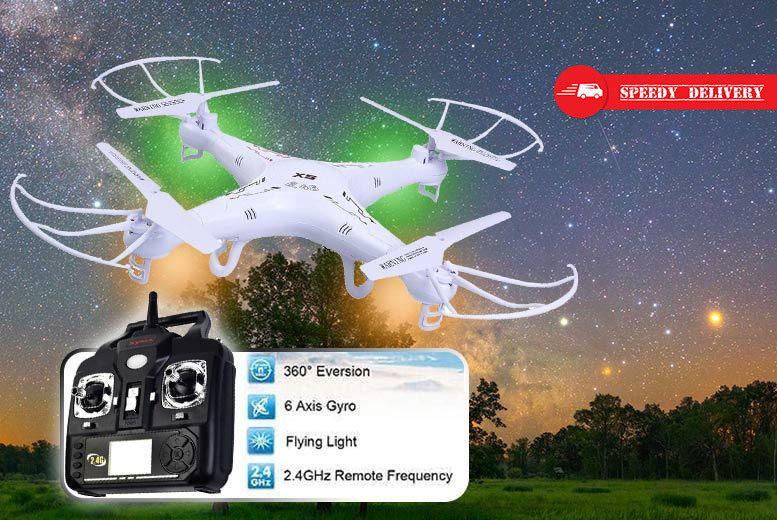 Extreme 6-Axis Stunt Quadcopter Drone for £32