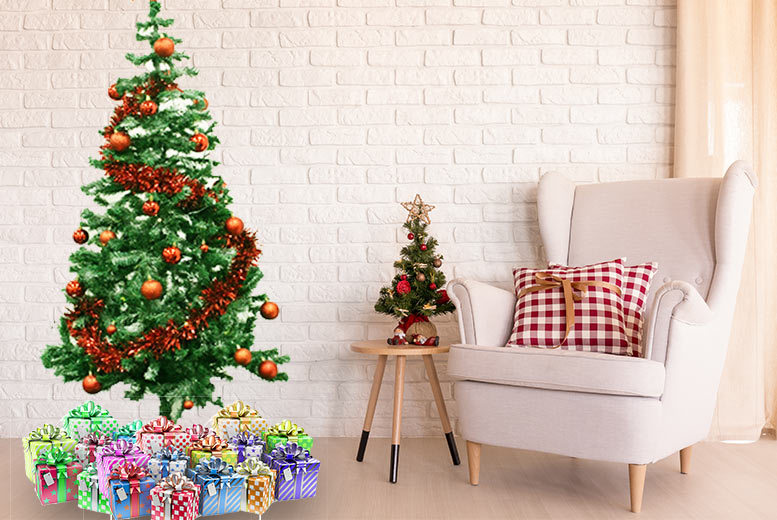 6ft Extra Thick Tipped Christmas Tree for £14.99