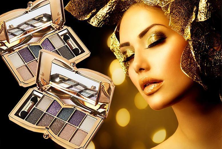 2 Butterfly-Shaped Glitter Eyeshadow Palettes from £7.99