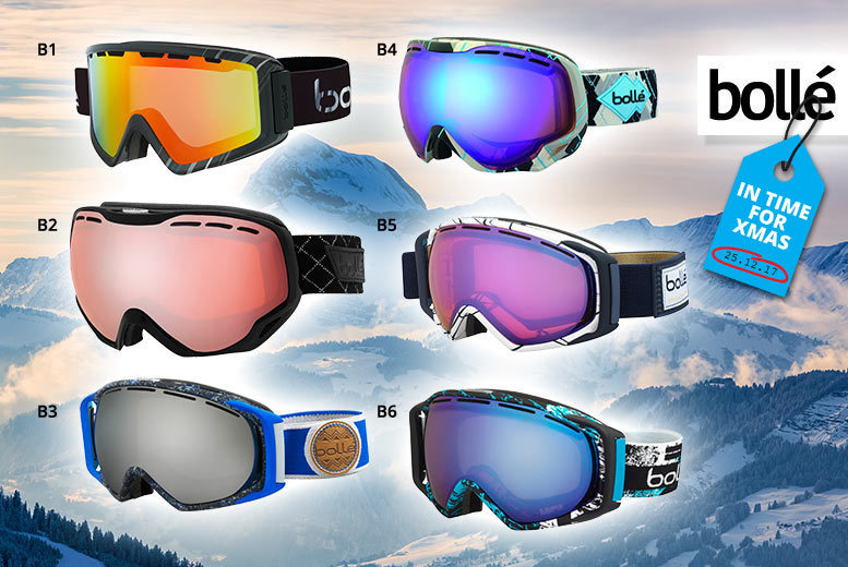 Bolle Ski Goggles – 26 Designs! from £29