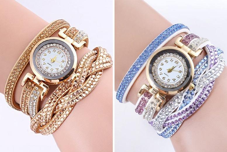 Wrap Watch Bracelet - 6 Colours!