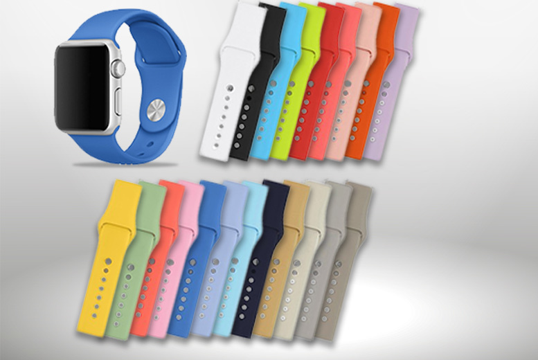 £9 instead of £27.26 (from Kendor van Noah) for an Apple Watch replacement strap - choose from 21 colours and save 67%