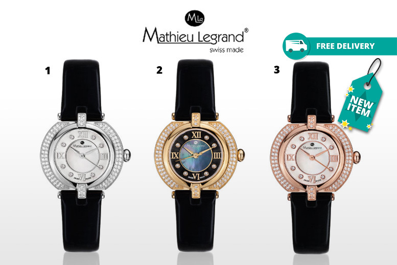 Mathieu Legrand 'Mille Cailloux' Watch - 3 Designs & Delivery Included!