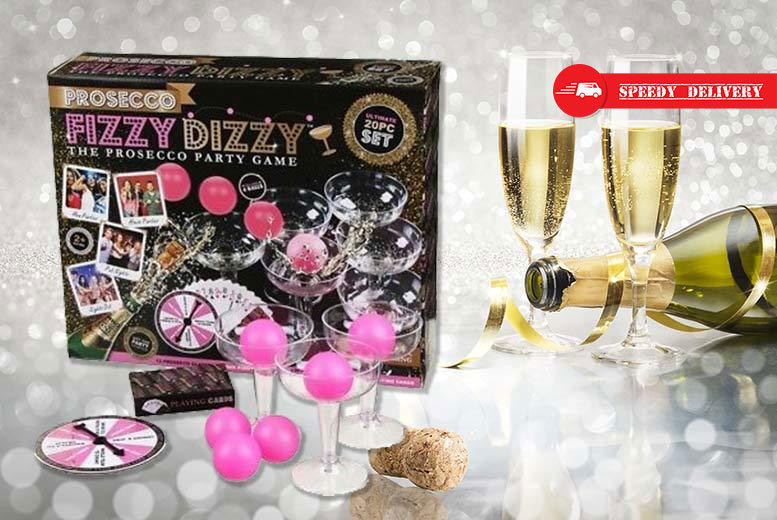 Prosecco 'Fizzy Dizzy' Party Game for £8.99