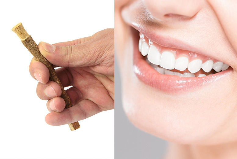 2pk Miswak Natural Toothbrushes for £3.99