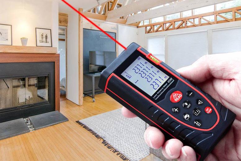 40M Handheld Laser Distance Rangefinder for £22