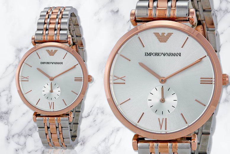 Emporio Armani AR1677 Men's Stainless Steel Watch