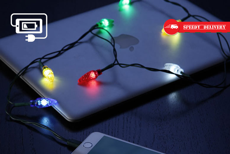 Xmas Lights iPhone Charging Cable for £4.99