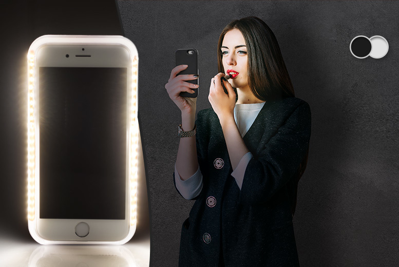 £9 instead of £49.99 (from ClickWrap) for a light-up iPhone case - save 82%