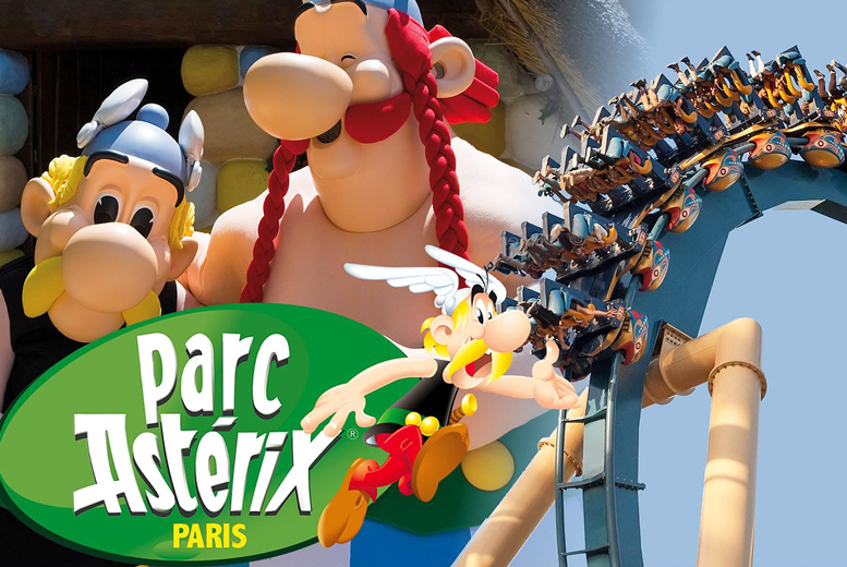 £99 instead of £139 for a Parc Asterix day pass, ferry and coach from 11 locations from Coach Innovations - save 29%