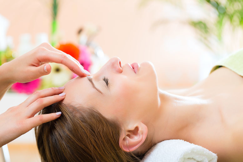 Facial and Indian Head Massage