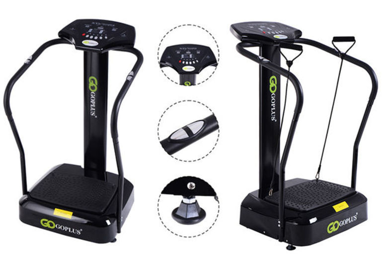 Massaging Vibration Power Plate Gym Machine - 2 Designs!
